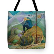 Thinking Place Tote Bag