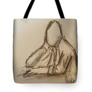 Thinking  Tote Bag by Steve Jorde