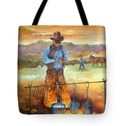 Think'n Out His Day Tote Bag