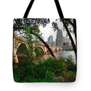 Third Avenue Bridge Tote Bag