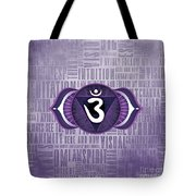 Third Eye Chakra - Awareness Tote Bag