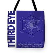Third Eye Chakra Series Three Tote Bag