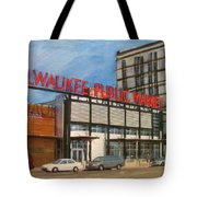 Third Ward - Milwaukee Public Market Tote Bag