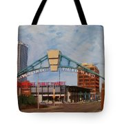 Third Ward Arch Over Public Market Tote Bag