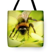 Thirsty Bumble Bee. Tote Bag