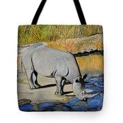 Thirsty Rhino Tote Bag