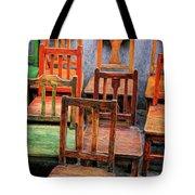 Thirteen Chairs Tote Bag