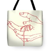 Thirteenth Station- Jesus Is Taken Down From The Cross Tote Bag