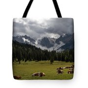 This Is A Cow's World Tote Bag