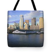 This Is The Skyline And Harbor Tote Bag