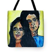 This Is Us--thanks To Mark Knopfler And Emmy Lou Harris Tote Bag