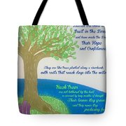 """This Is What The Lord Says: """"cursed Tote Bag"""