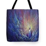 This Little Light Of Mine Tote Bag by Nancy Cupp