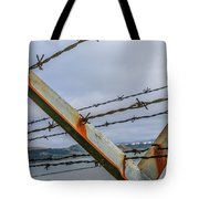 This Side Of The Fence Tote Bag