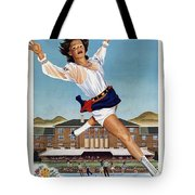 This Summer Sun Valley - Chicago And North Western Line - Retro Travel Poster - Vintage Poster Tote Bag