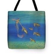 Swim This Way Tote Bag