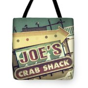This Way To Joe's Crab Shack Tote Bag