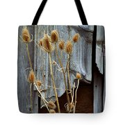 Thistle And Wood Tote Bag