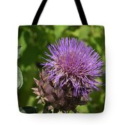 Thistle In Bloom Tote Bag