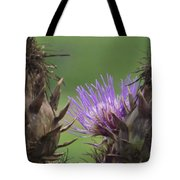Thistle In Hiding Tote Bag