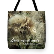 Thistle In Seed Tote Bag