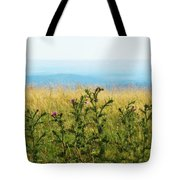 Thistle On The Blue Ridge Tote Bag