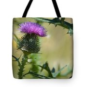 Thistle Spikes Tote Bag