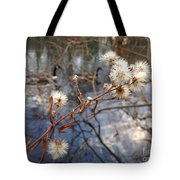 Thistles And Geese  Tote Bag