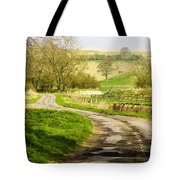 Thixendale Road  North Yorkshire Tote Bag