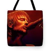 Thom Yorke Of Radiohead Tote Bag