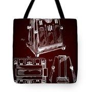Thomas A. Edison Jr. Toaster Patent 1933 2 Tote Bag