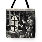 Thomas Edison (1847-1931) Tote Bag