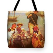 Thomas Edwin Monsters Of The Deep Tote Bag