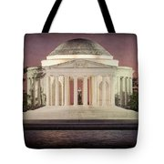 Thomas Jefferson Memorial At Sunset Artwork Tote Bag