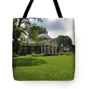 Thomas Jefferson's Monticello Tote Bag by Bill Cannon