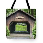 Thomas Malon Covered Bridge Tote Bag