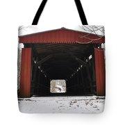 Thomas Mill Road Covered Bridge Tote Bag