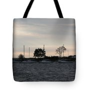 Thomas Point - Waiting To Sail Tote Bag