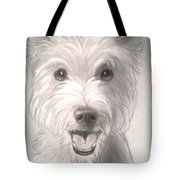 Thor The Westie Tote Bag
