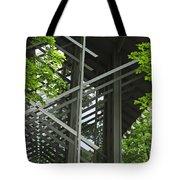Thorncrown Chapel Eureka Springs Ar Entry Tote Bag