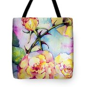 Thorns Have Roses Tote Bag
