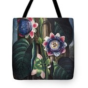 Thornton: Passion-flower Tote Bag