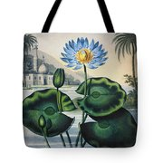 Thornton: Water Lily Tote Bag