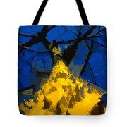 Thorny Tree Blue Sky Tote Bag