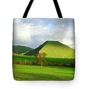 Thorpe Cloud From Bunster Hill Tote Bag