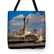 Those Jersey Gulls  Tote Bag