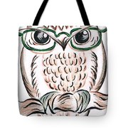 Owl- Those Spectacles  Tote Bag