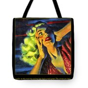 Those Voices Inside My Head Tote Bag