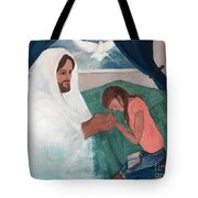 Those Who Hope In The Lord Will Renew Their Strength Tote Bag