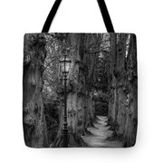 Though We Have Never Been Here Tote Bag